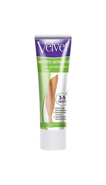 Крем для депиляции Velvet Экспресс Для чувствительной кожи