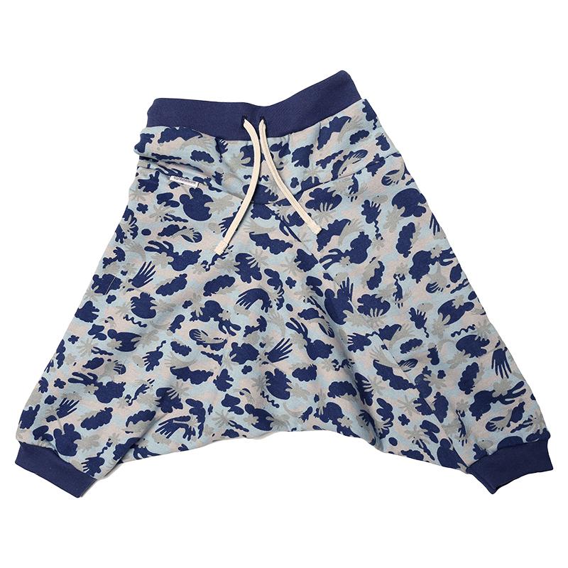 Купить Брюки детские Bambinizon Голубые ШТФ-МЛТ-Г р.104 голубой, Детские брюки и шорты