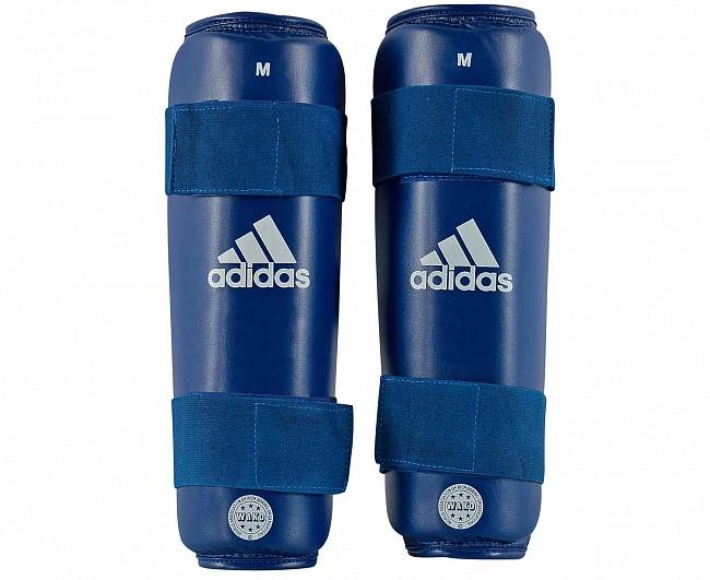 Защита голени Adidas WAKO Kickboxing Shin Guards синяя L