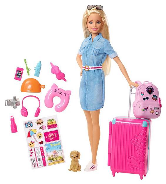 Купить Кукла Mattel Barbie FWV25 из серии Путешествия, Куклы Barbie