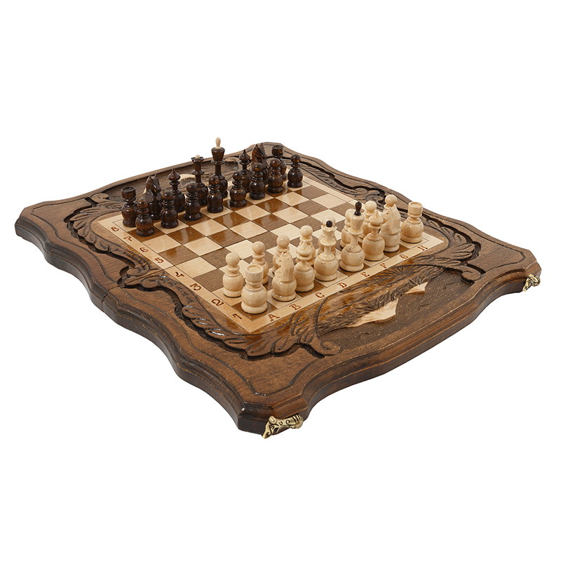 Шахматы и Нарды резные Haleyan c Араратом