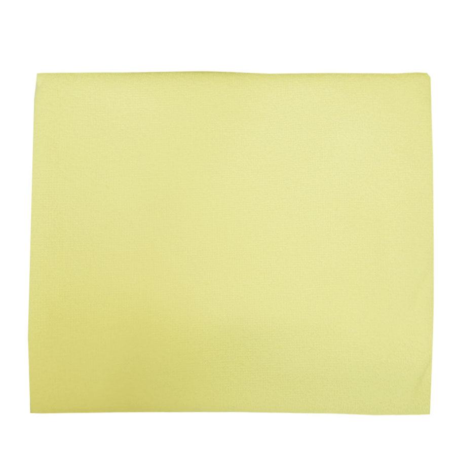 Наматрасник детский Папитто махровый 125х65 Желтый 333