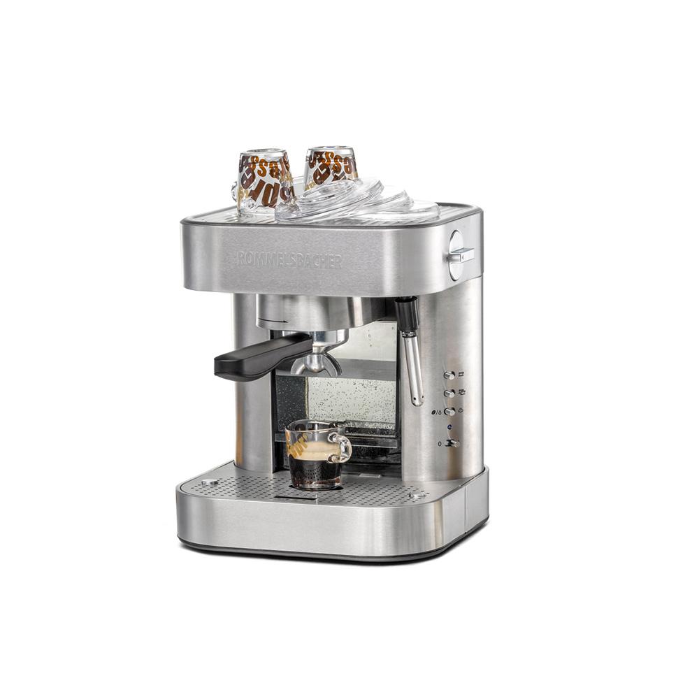 Рожковая кофеварка  Rommelsbacher EKS 2010 Silver