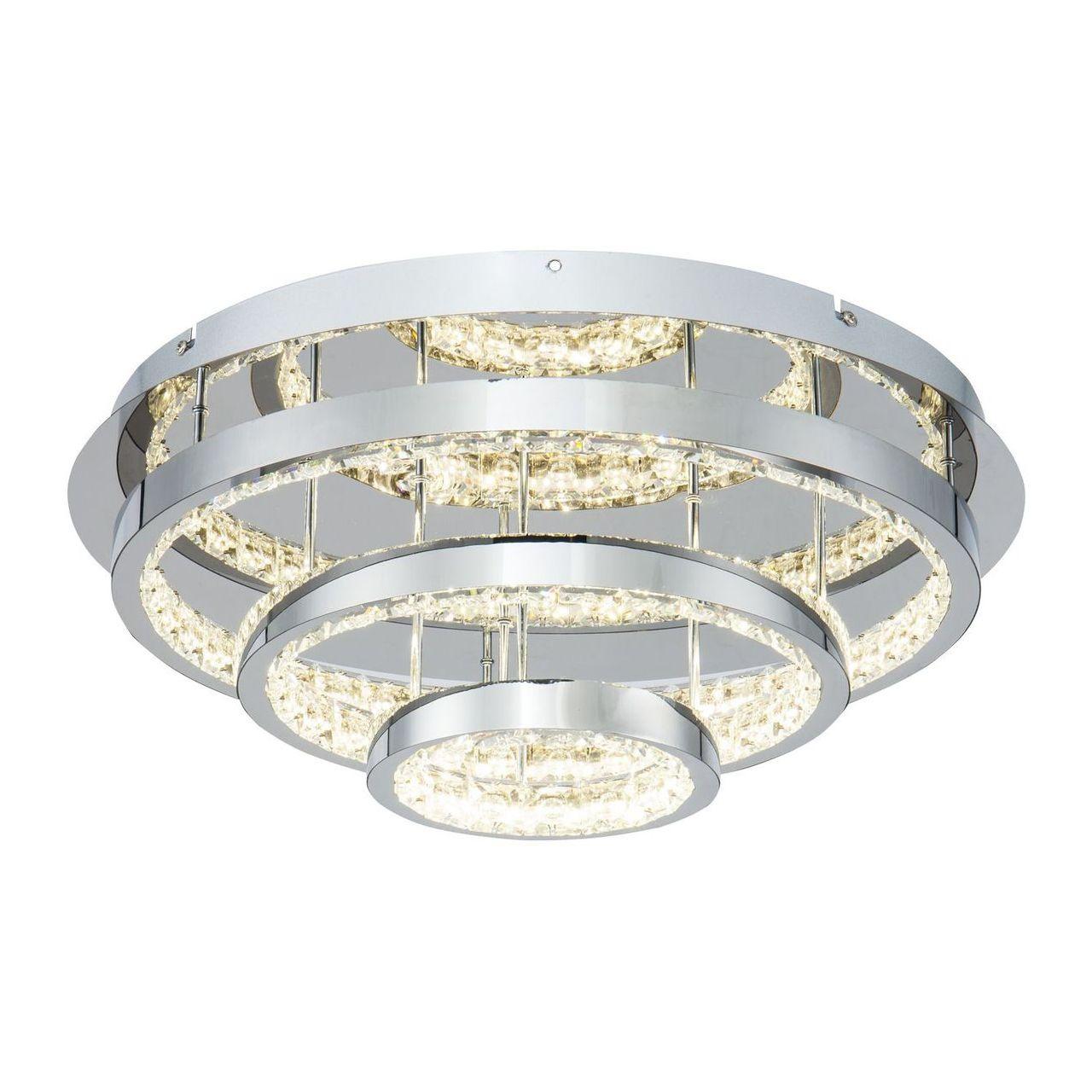 Потолочный светодиодный светильник Freya Dome FR6004CL-L35CH фото