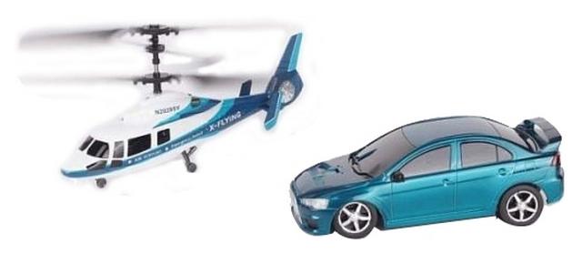 Игровой набор Wineya вертолет и машина