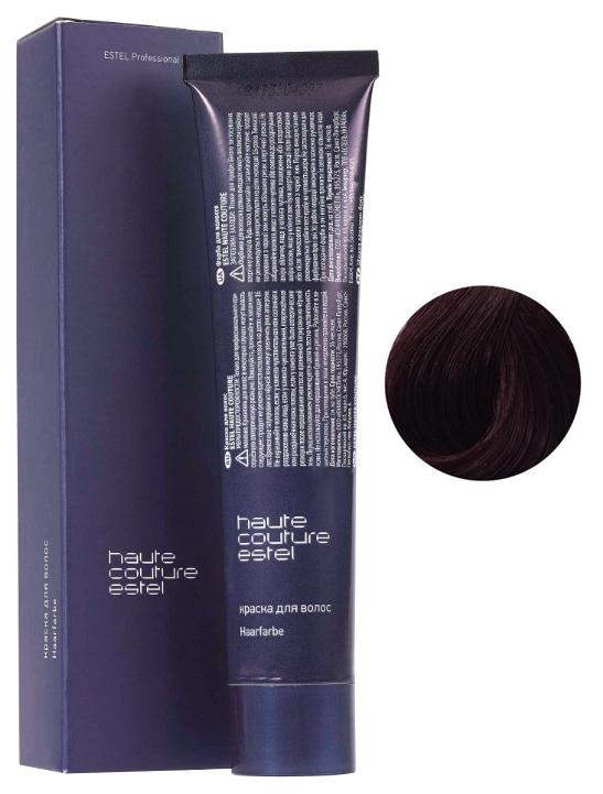Краска для волос Estel Professional Haute Couture 5/6 Светлый шатен фиолетовый 60 мл