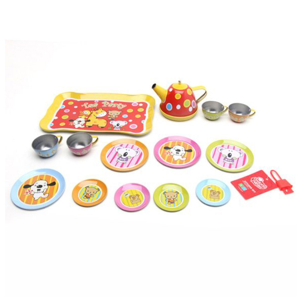 Купить НАША ИГРУШКА Набор посуды для чаепития, 15 предметов, 831111-BW, Наша игрушка, Игрушечная посуда