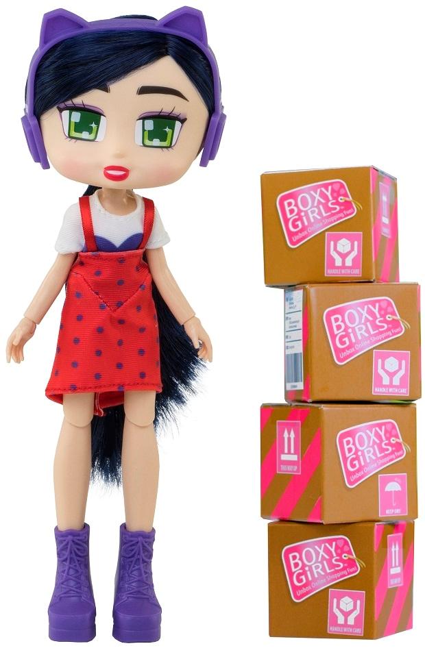 Купить 1 TOY Кукла Boxy Girls Riley 20 см. с аксессуарами,