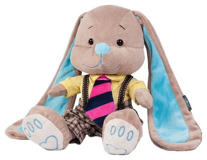 Купить Мягкая игрушка Jack&Lin Зайчик в Желтой Рубашке 25 см JL-025-25-КСО, Мягкие игрушки животные