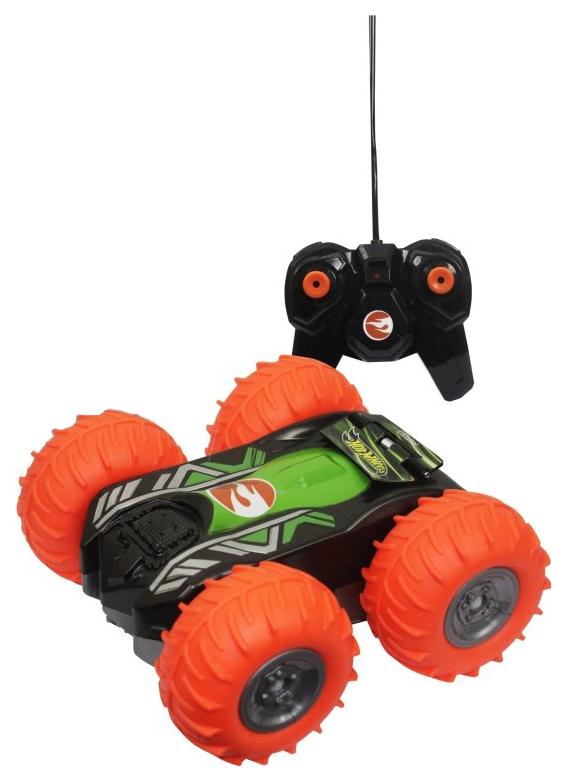 Купить Радиоуправляемая машинка 1 Toy Машина-перевертыш Hot Wheels Трюковая Т13858, Радиоуправляемые машинки