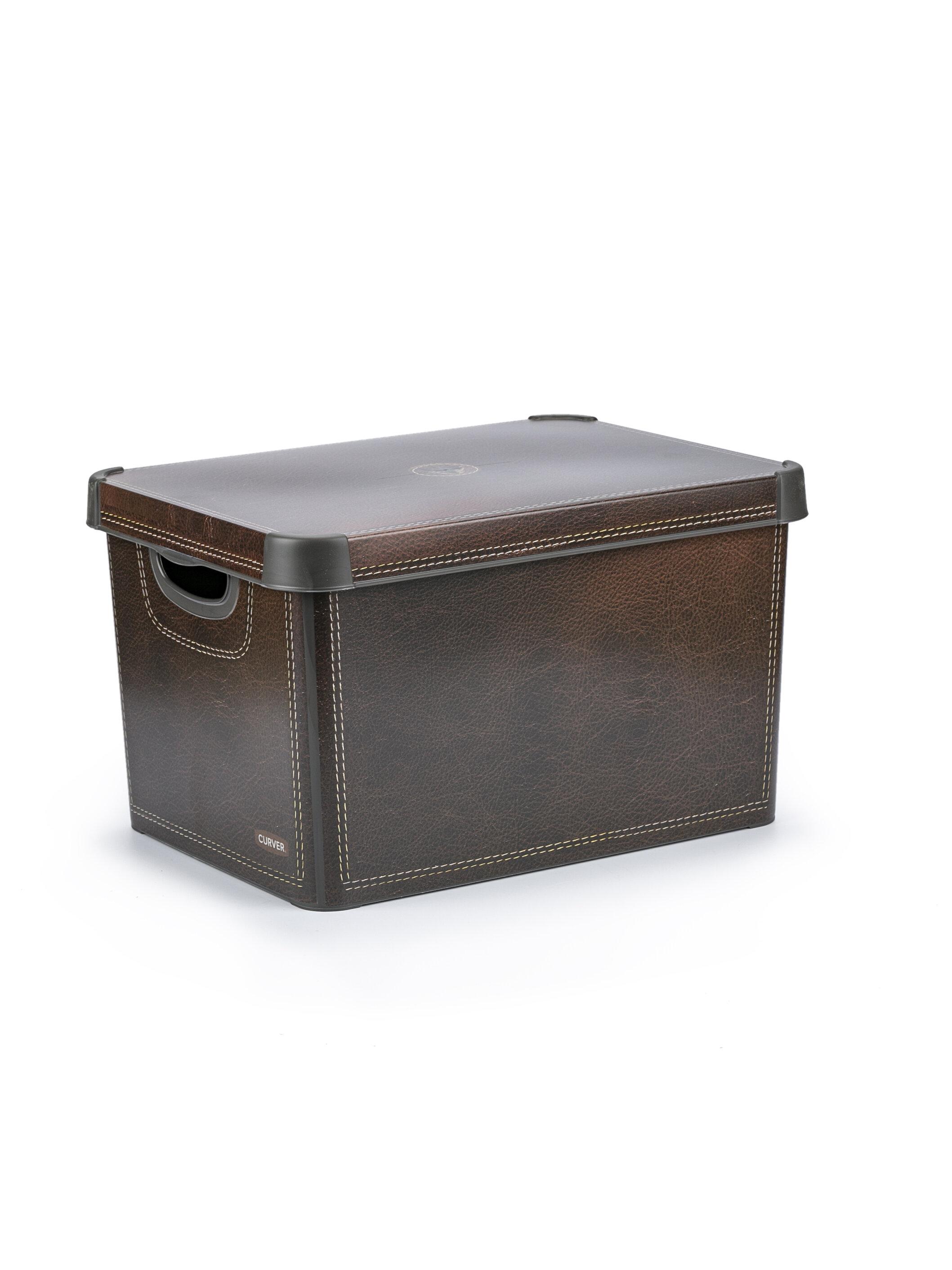Ящик для хранения Curver Stockholm leather 22 л