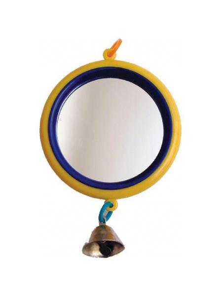 Зеркало большое с колокольчиком для птиц Дарэлл