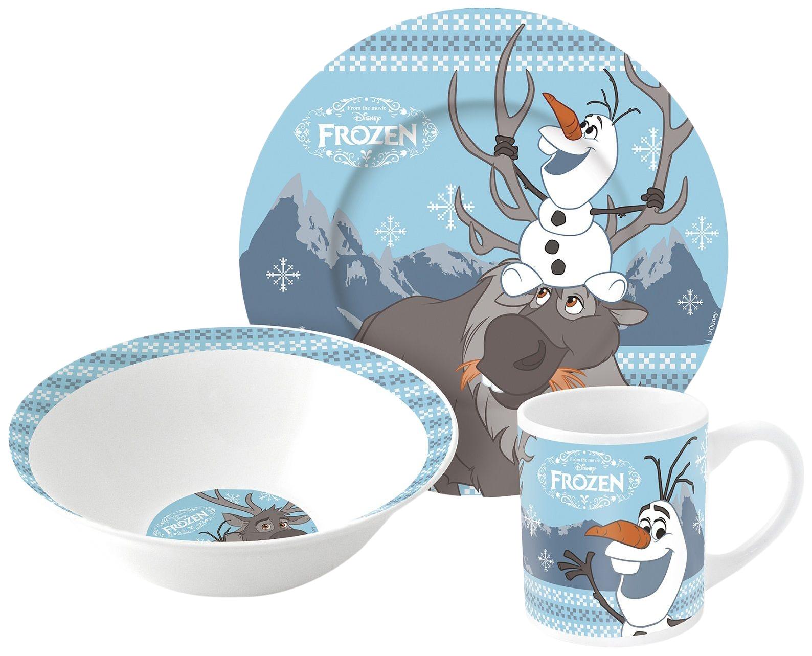 Купить 252369, Набор детской посуды Stor Disney FROZEN Холодное сердце Олаф и Свен, Наборы детской посуды