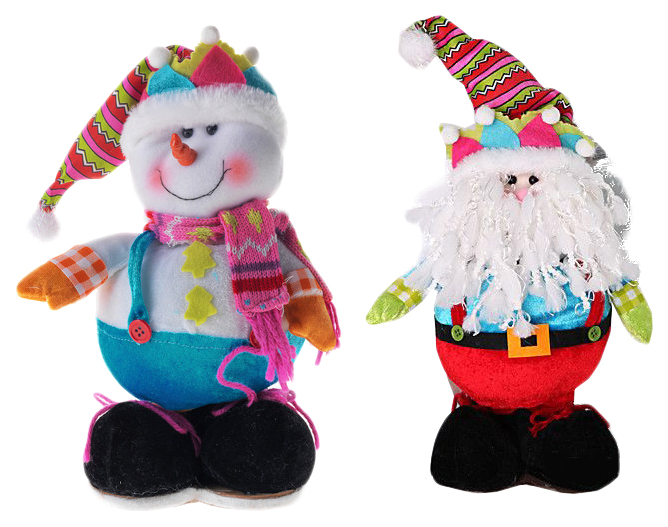 Купить Мягкая игрушка Snowmen Дед мороз Снеговик Е92110,