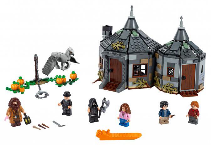 Конструктор LEGO Harry Potter Хижина Хагрида: спасение Клювокрыла фото