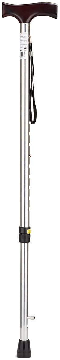 Купить Трость Армед YU821 с УПС серебряный светлое дерево, Armed