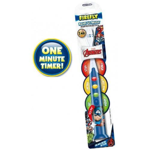 Детская зубная щетка Dr.fresh Avengers мягкая