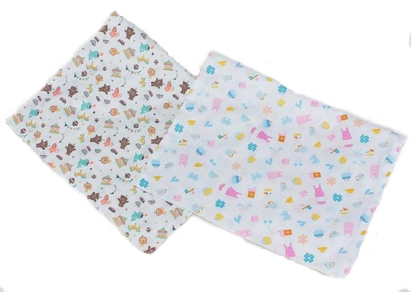 Наволочка для подушки 40*60 цветная (сатин)