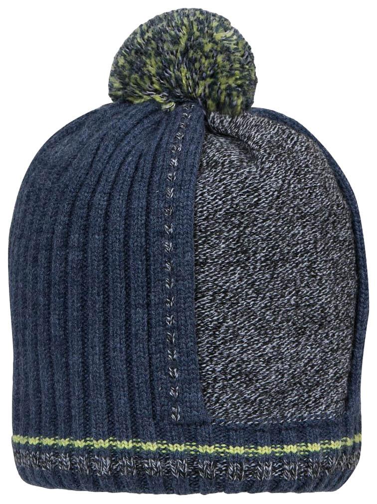 Купить Шапка для мальчика Barkito, джинс р.52-54, Детские шапки и шарфы