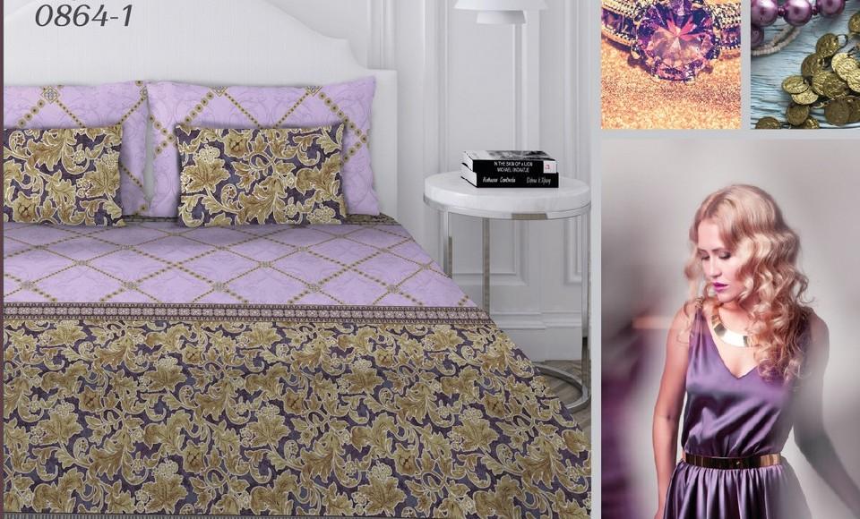 Комплект постельного белья Текстильная лавка Бархат полутороспальный