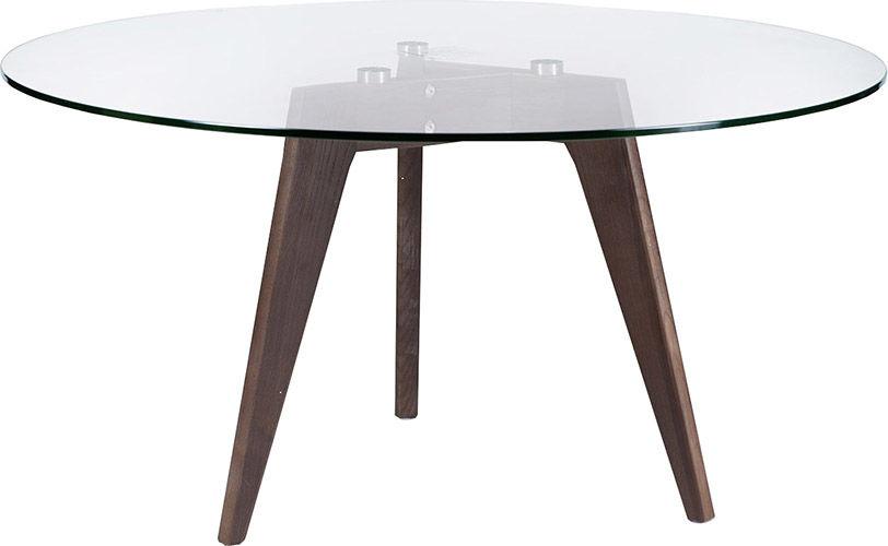 Журнальный стол Divan.ru 41х80х80 см, коричневый