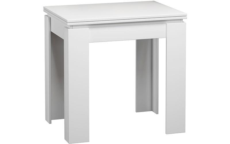 Кухонный стол Divan.ru 78х80х60 см, белый