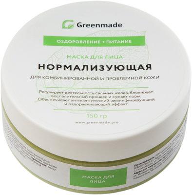 Маска для лица Нормализующая GreenMade для комбинированной