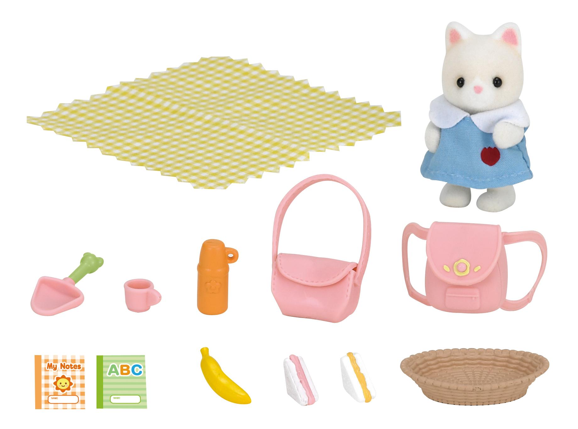 Купить Игровой набор sylvanian families пикник в детском саду, Игровые наборы