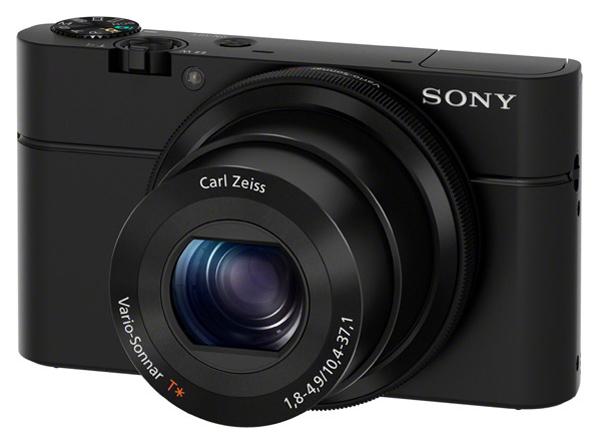 Фотоаппарат цифровой компактный Sony RX100 Black (DSCRX100.CEE2) фото