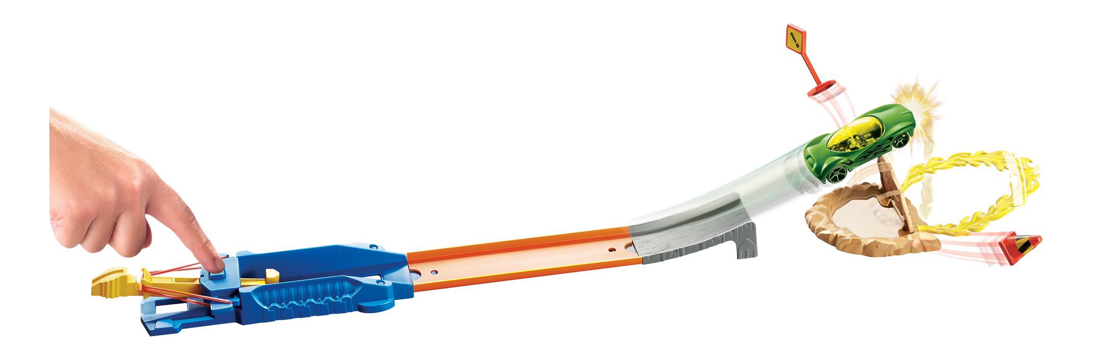 Купить Автотрек Hot Wheels Прыжок через огненное кольцо DNN77 DNN80,