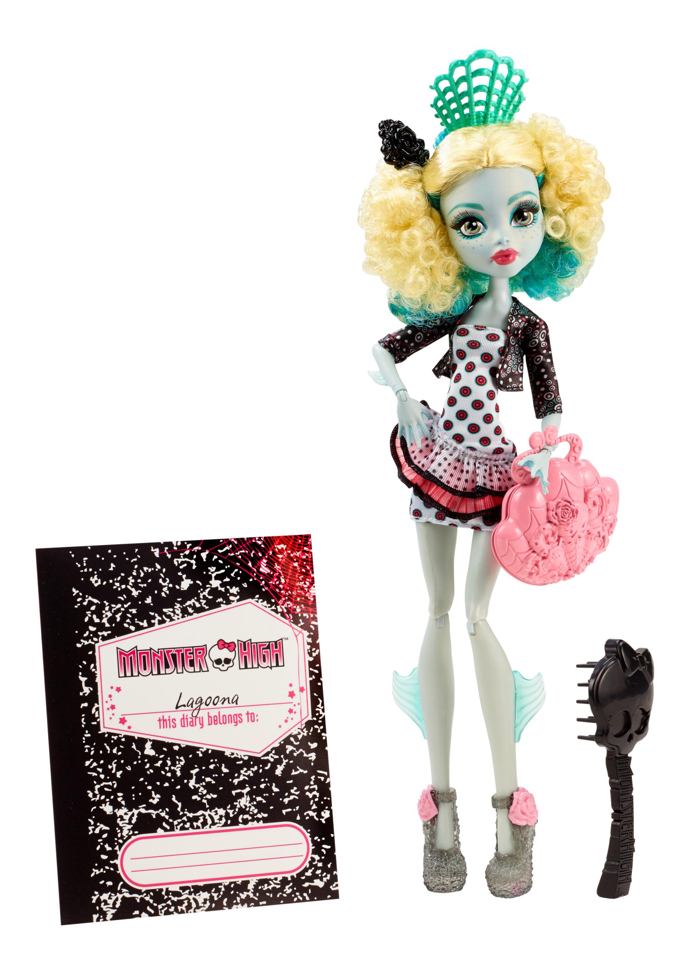 Купить Кукла Monster High Лагуна Блю CFD17 CDC37, Куклы Monster High