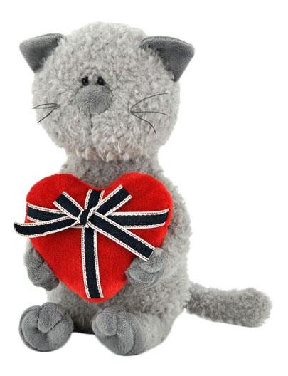 Мягкая игрушка Orange Toys Кот Обормот с сердцем 30