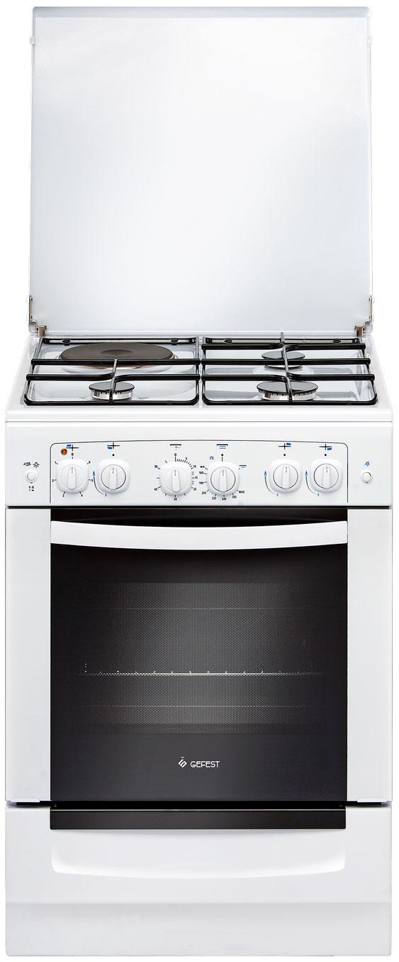 Комбинированная плита GEFEST ПГЭ 6110 02 White