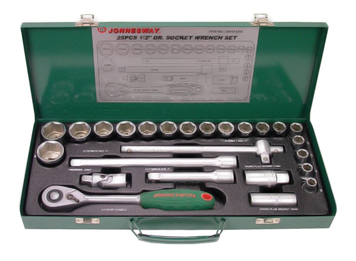 Набор столярно-слесарного инструмента JONNESWAY S04H4125S