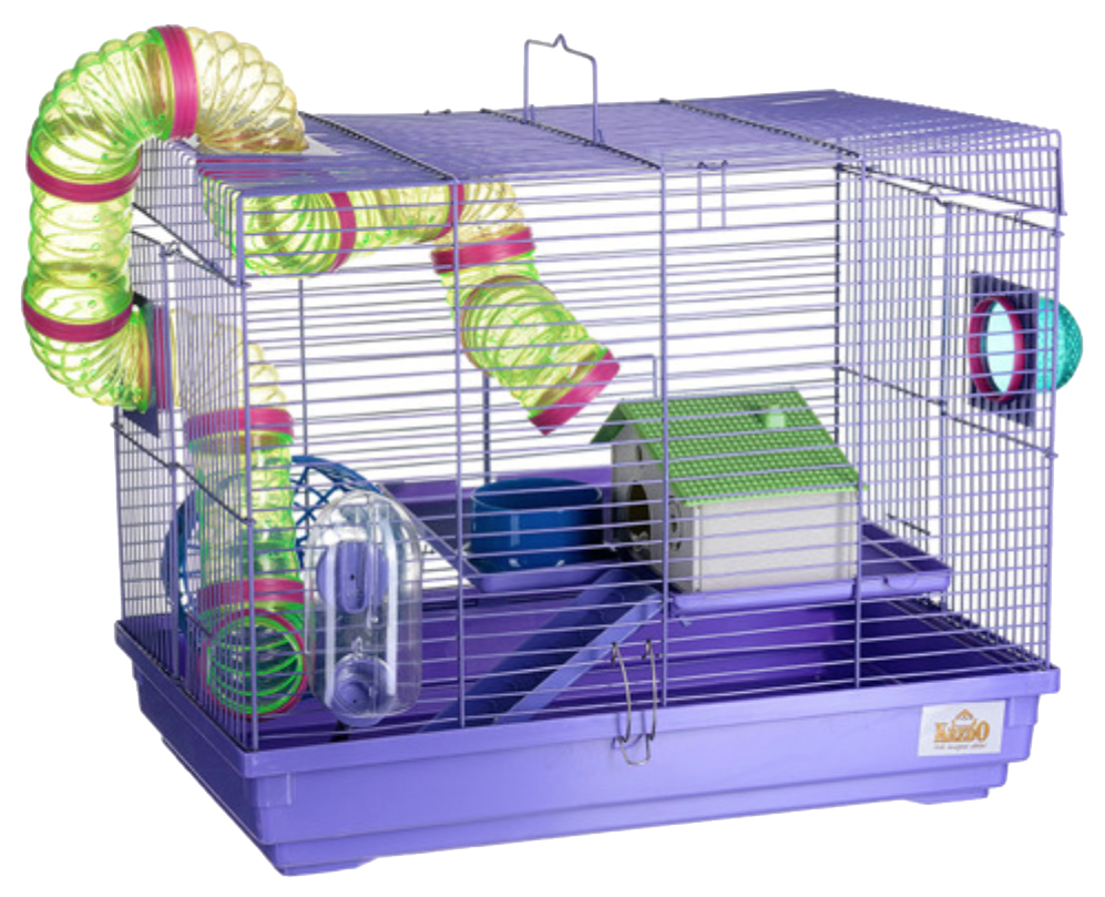 Клетка для мышей, хомяков, хорьков KREDO 37х30х47см