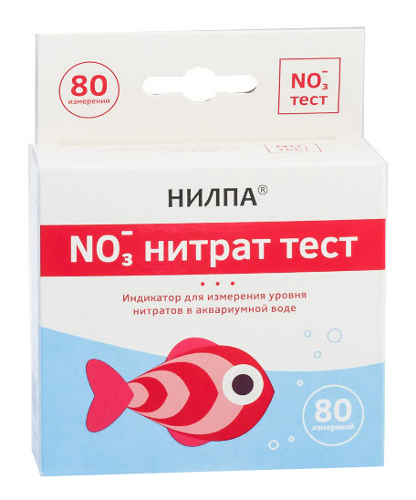Тест для воды НИЛПА NO3 для измерения концентрации нитратов фото