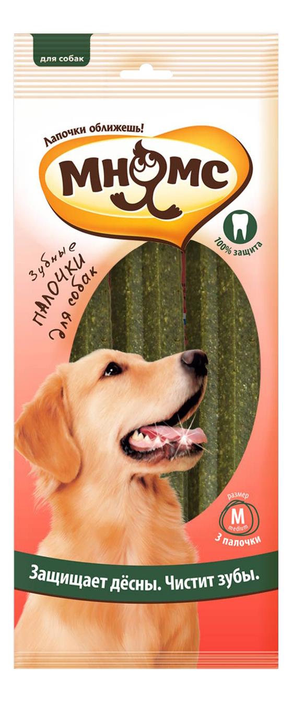 Лакомство для собак Мнямс Зубные палочки-звезды, размер M, 17,5см, 3шт по 65г