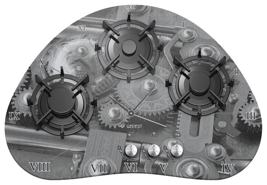 Встраиваемая варочная панель газовая GEFEST СН 2120