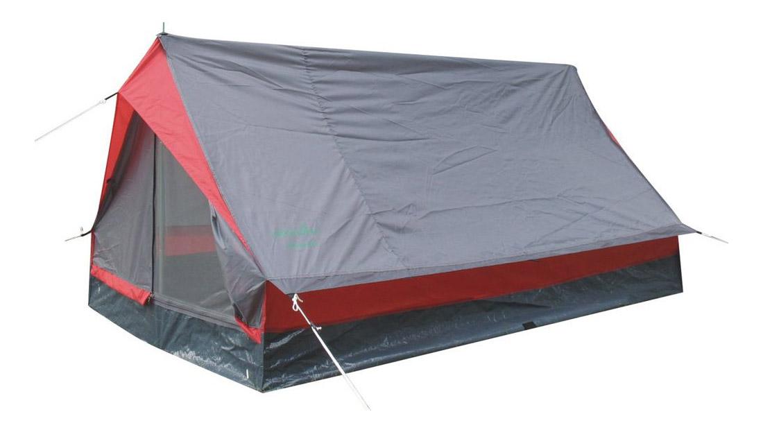 Палатка Green Glade Minidome (Minipack) двухместная серая/красная