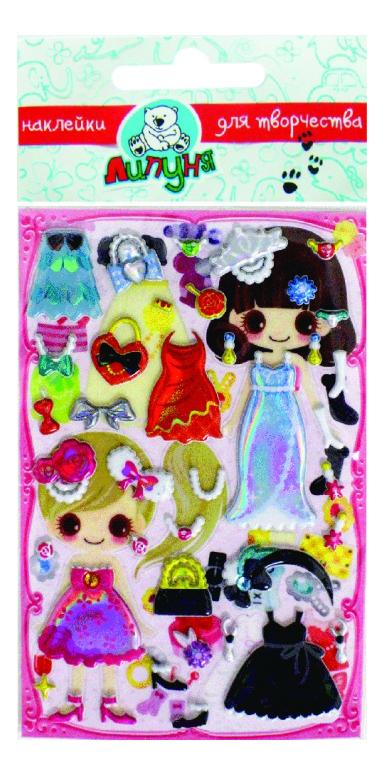 Наклейка декоративная для детской комнаты Липуня Прогулка