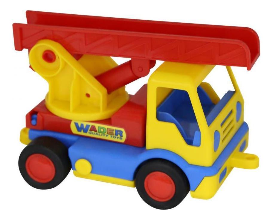 Купить Автомобиль пожарный Базик, Пожарная машина Полесье Базик в сетке, Спецслужбы
