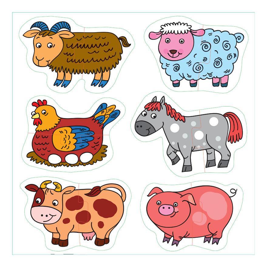 Животные картинки шаблоны цветные