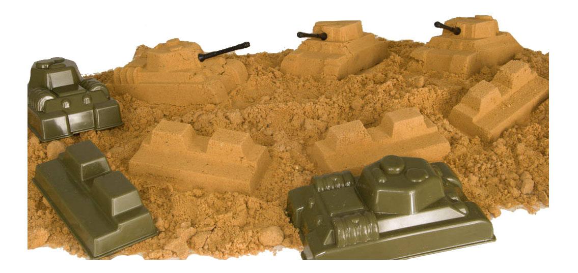 Песочный набор Форма Танковый бой С-142-Ф