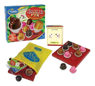 Купить Семейная настольная игра Thinkfun Шоколадный набор,