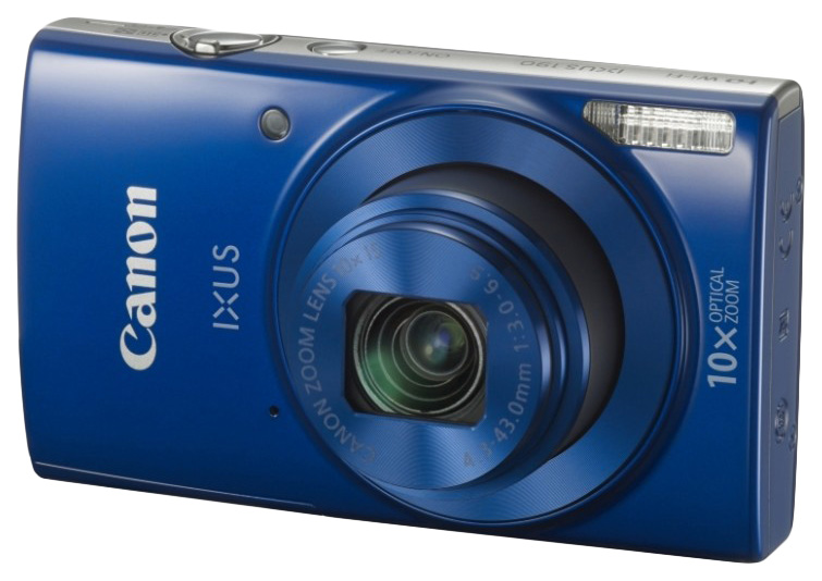 Фотоаппарат цифровой компактный Canon Digital Ixus 190 Blue