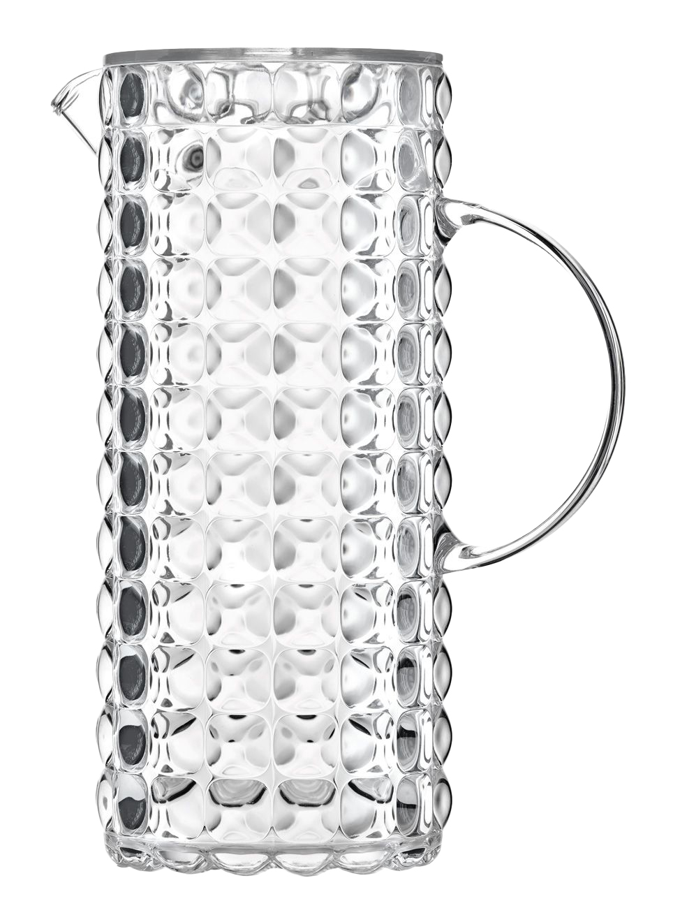 TIFFANY Кувшин 1,75л, пластик, прозрачный