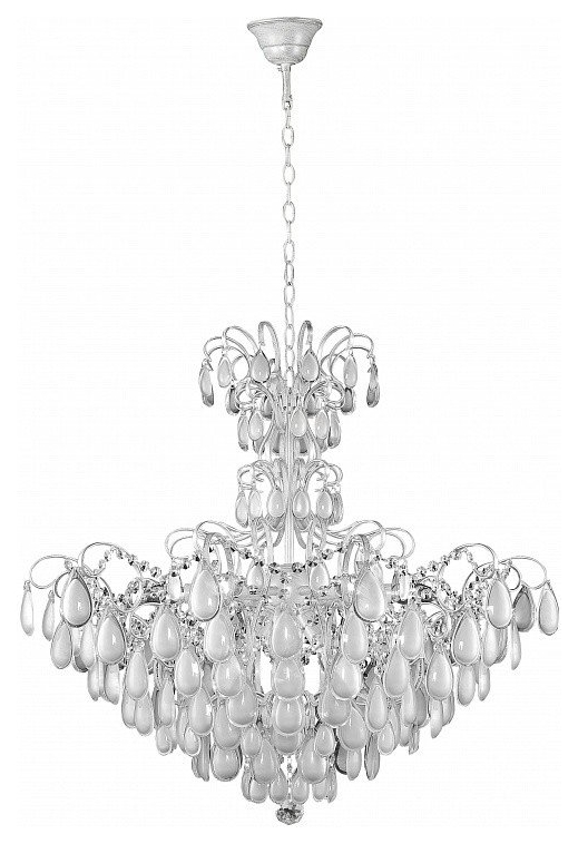 Люстра подвесная Crystal Lux Sevilia SP9 Silver