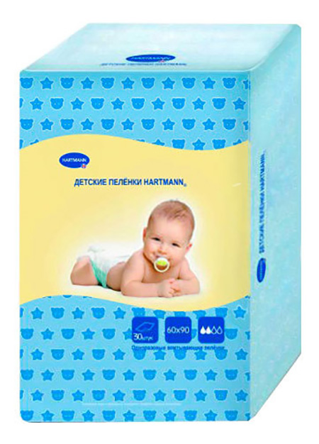 Пеленки для детей Hartmann Пеленки 30 шт.