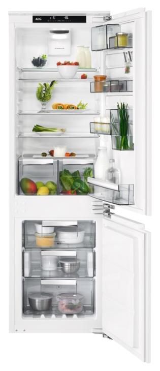 Встраиваемый холодильник AEG SCR81864TC White
