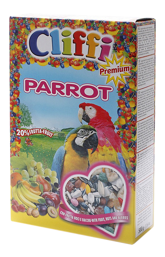 Основной корм Cliffi для попугаев 500